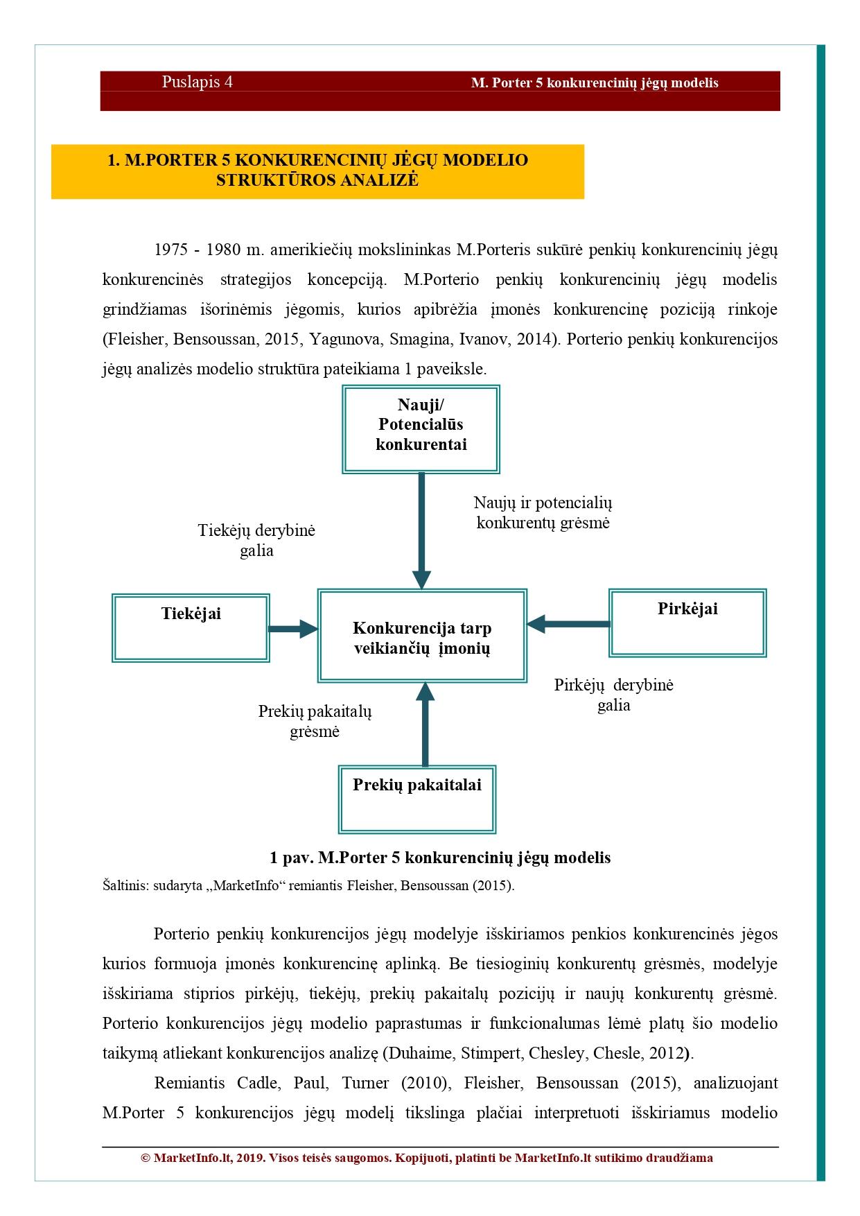 pagrindinės konkurencijos užsienio rinkose strategijos galimybės)